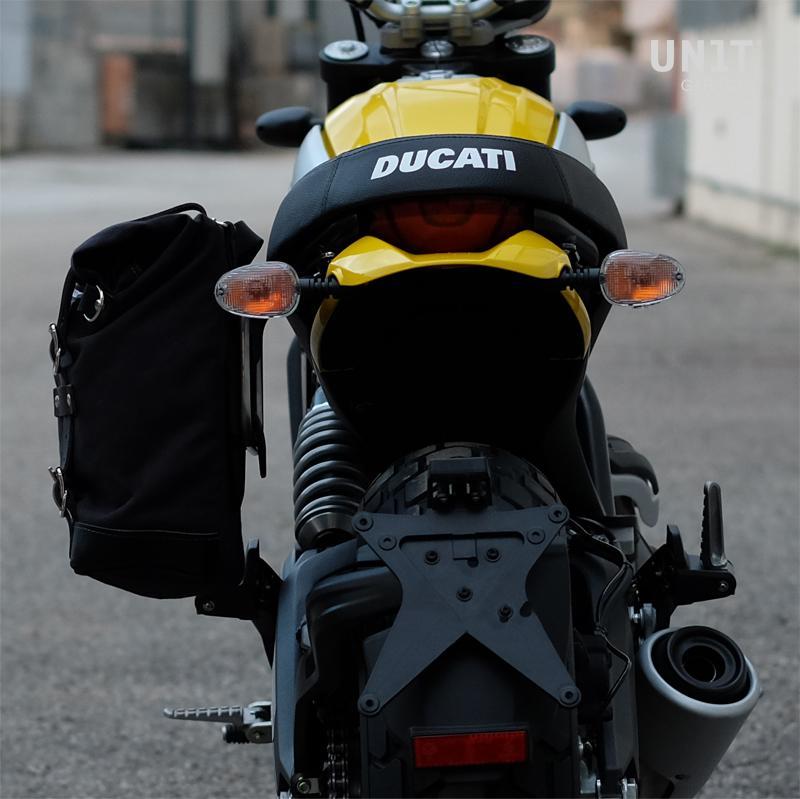 Borsa Laterale Canvas Telaio Ducati Serie Scrambler