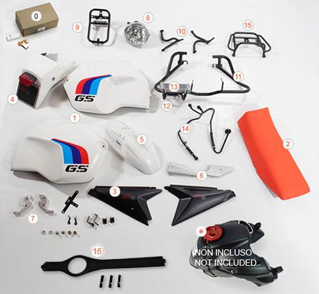 Kit R120 GS