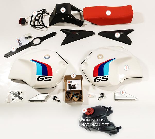 Kit R120 GS R