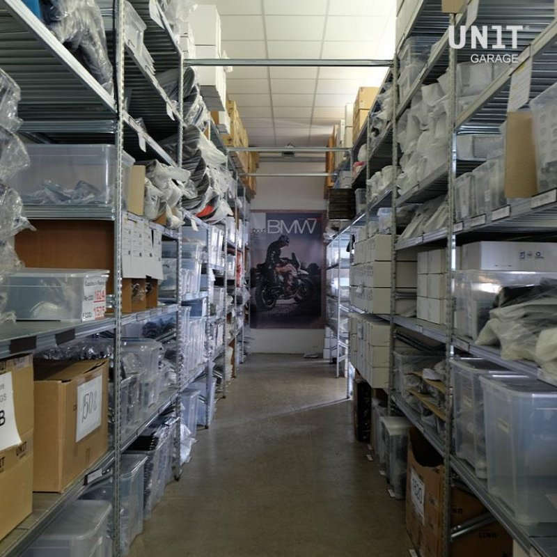 The garage & Warehouse