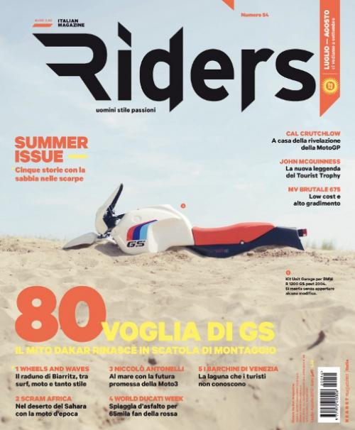 Riders 54. La copertina: Dakar fai da te, il kit