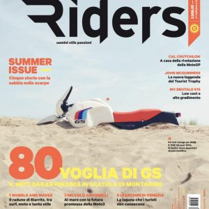 Riders Italian Magazine 54 COVER - Photo Matteo Cavadini
