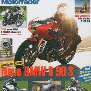 BMW Motorrader estate 2013 copertina
