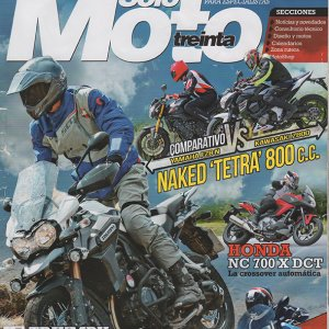 Solo Moto Treinta estate 2013 cop