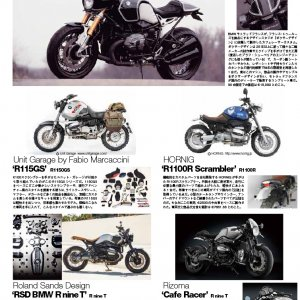 Kit R115 G/S BMW BIKES JAPAN marzo 2015