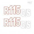 Adesivi R115 GS
