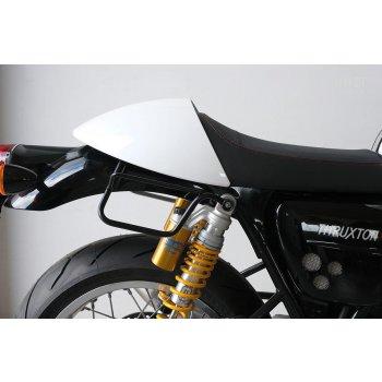 Borsa laterale in crosta di cuoio + telaio Triumph Thruxton DX