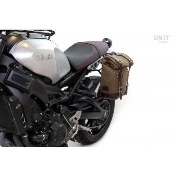 Borsa laterale in Crosta di cuoio + telaio Yamaha SX