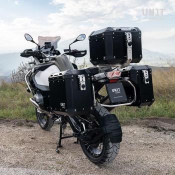 Coppia borse Atlas in Alluminio 40L+34L con Telai R1200GS LC - R1250GS & ADV