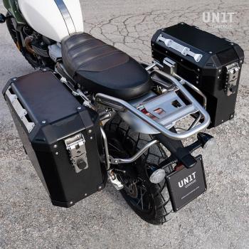Coppia borse Atlas in Alluminio 47L+41L con Telai Triumph 1200 XC & XE