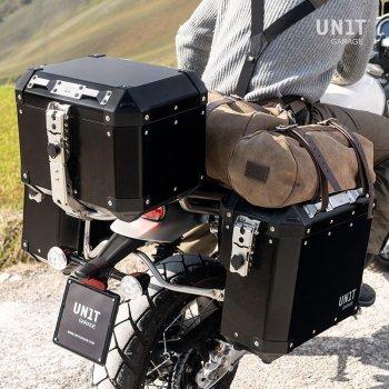 Coppia borse laterale Unitgarage in Alluminio 37L