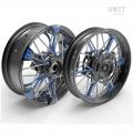 Coppia ruote a raggi NineT Racer & Pure 24M9 SX-Spider tubeless