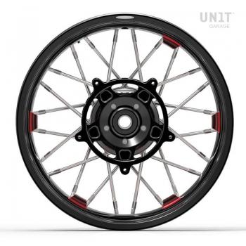 Coppia ruote a raggi NineT Racer & Pure 24M9 SX tubeless
