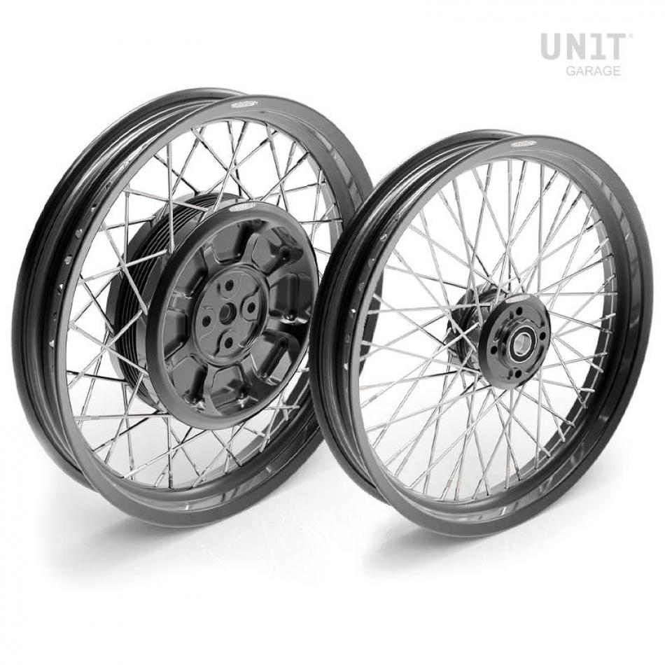 Coppia ruote a raggi R100RS 48M6 (DRUM BRAKE)