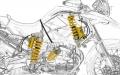 Kit Ammortizzatori BMW R 1200 GS ADV sistema mechatronic OHLINS