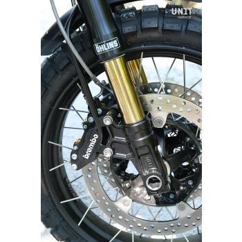 Kit forcella Ohlins USD + piastre e piedini Unit Garage