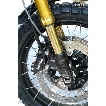 Kit forcella Ohlins USD + piastre e piedini Unit Garage