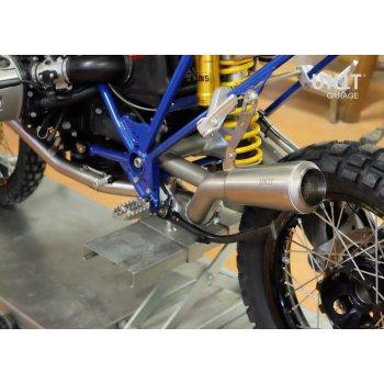 Kit marmitta completa HP2 acciaio inox