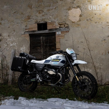 Kit NineT PARIS DAKAR HA83 con accessori