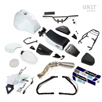 Kit NineT PARIS DAKAR HA83 con accessori