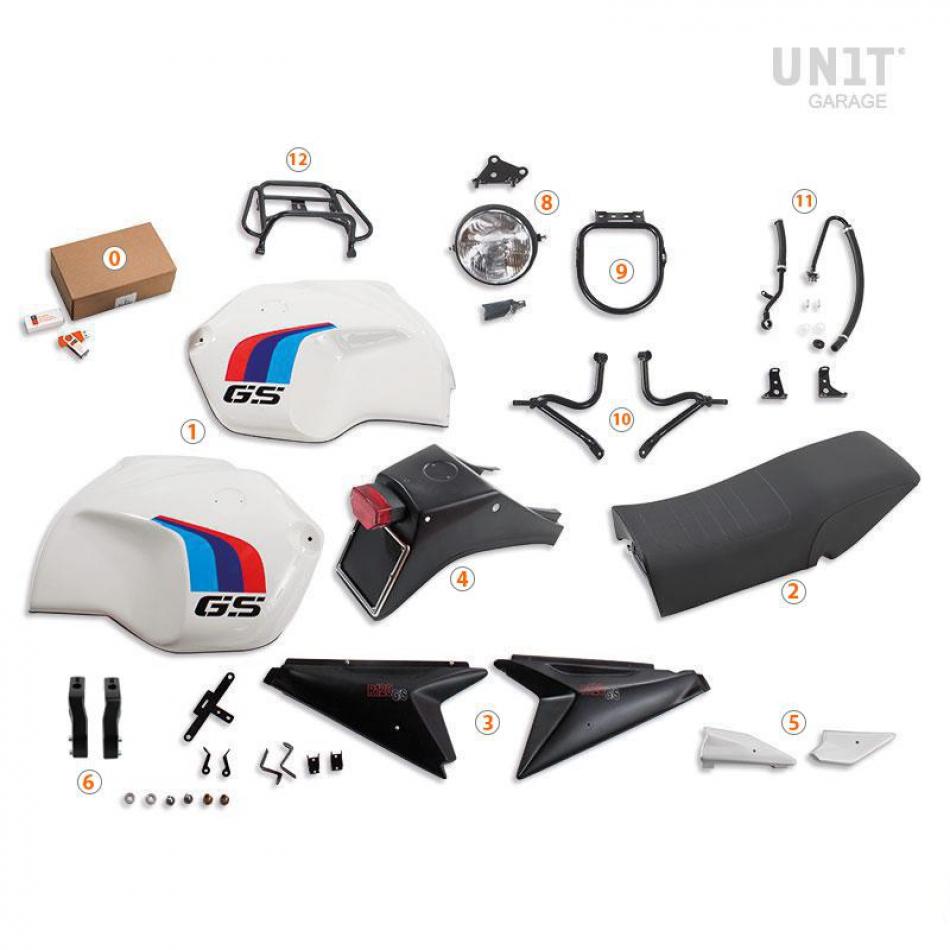 R120 G/S ADV Kit con faro Basic