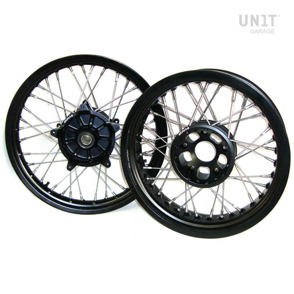 Ruote STS Tubeless Complete R1200 GS LC Nero
