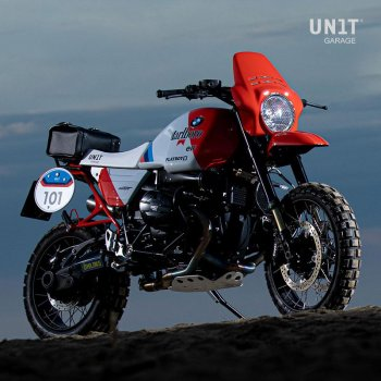 Sella Monoposto kit nineT Paris Dakar GR86