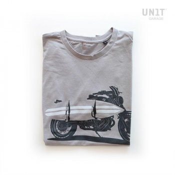 T-shirt Unit Garage grigio