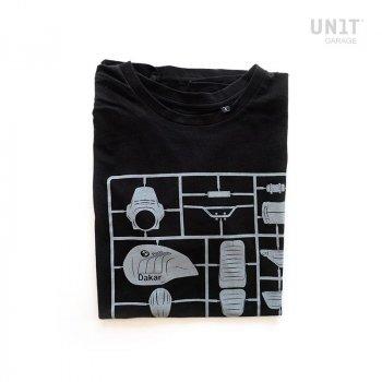 T-shirt Unit Garage Nero