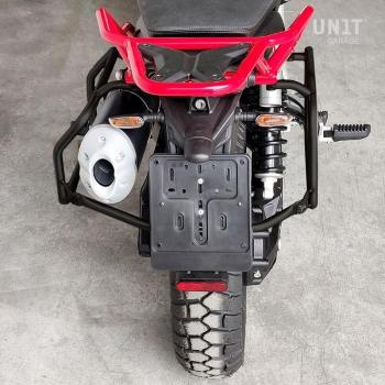 Telai per borse in alluminio Moto Guzzi Nero